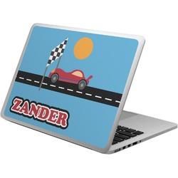 Race Car Laptop Skin - Custom Sized (Personalized)