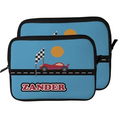 Race Car Laptop Sleeve / Case (Personalized)