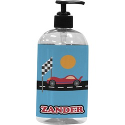 Race Car Plastic Soap / Lotion Dispenser (Personalized)