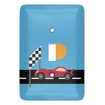Race Car Light Switch Covers - Multiple Toggle Options Available (Personalized)
