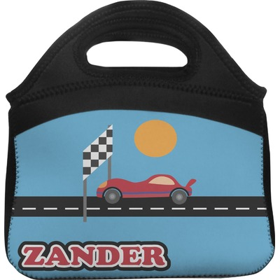 Race Car Lunch Tote (Personalized)