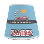 Race Car Empire Lamp Shade (Personalized)