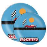 Race Car Melamine Plate (Personalized)
