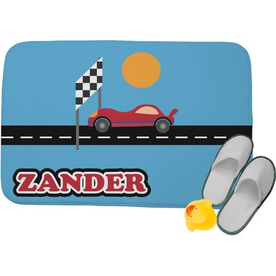 Race Car Memory Foam Bath Mat (Personalized)