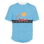 Race Car Men's Crew T-Shirt (Personalized)