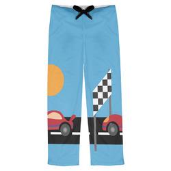 Race Car Mens Pajama Pants (Personalized)
