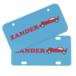 Race Car Mini/Bicycle License Plates (Personalized)