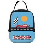 Race Car Neoprene Lunch Tote (Personalized)