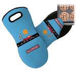 Race Car Neoprene Oven Mitt (Personalized)