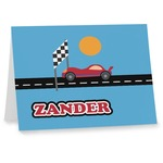 Race Car Notecards (Personalized)