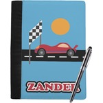 Race Car Notebook Padfolio (Personalized)