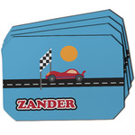 Race Car Dining Table Mat - Octagon w/ Name or Text