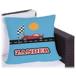"Race Car Outdoor Pillow - 20"" (Personalized)"