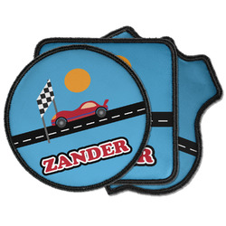 Race Car Iron on Patches (Personalized)