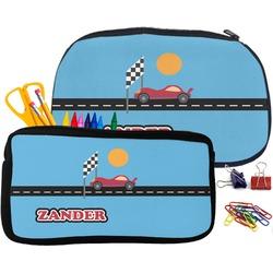 Race Car Neoprene Pencil Case (Personalized)