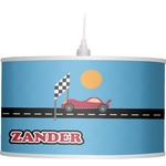 Race Car Drum Pendant Lamp (Personalized)