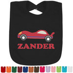 Race Car Bib - Select Color (Personalized)