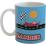 Race Car Coffee Mug (Personalized)