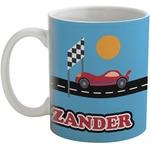 Race Car Coffee Mug (Personalized)