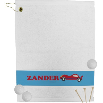 Race Car Golf Towel (Personalized)