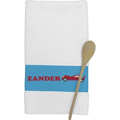 Race Car Kitchen Towel (Personalized)