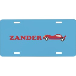 Race Car Front License Plate (Personalized)