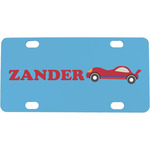 Race Car Mini / Bicycle License Plate (Personalized)