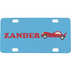 Race Car Mini License Plate (Personalized)
