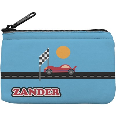 Race Car Rectangular Coin Purse (Personalized)