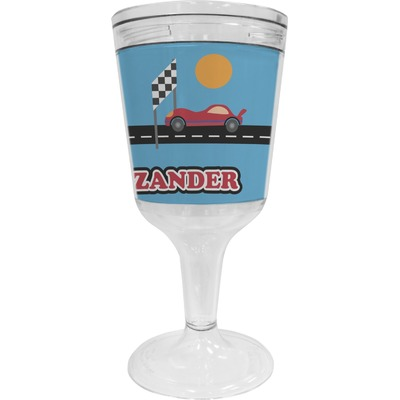 Race Car Wine Tumbler (Personalized)