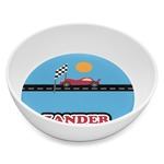 Race Car Melamine Bowl 8oz (Personalized)