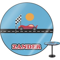 """Race Car Round Table - 24"""" (Personalized)"""