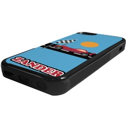 Race Car Rubber iPhone 5C Phone Case (Personalized)