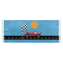 Race Car Faux Pashmina Scarf (Personalized)