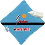 Race Car Security Blanket (Personalized)