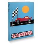 Race Car Softbound Notebook (Personalized)
