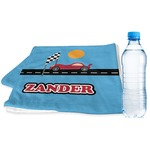Race Car Sports & Fitness Towel (Personalized)