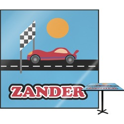 Race Car Square Table Top (Personalized)