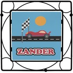 Race Car Square Trivet (Personalized)