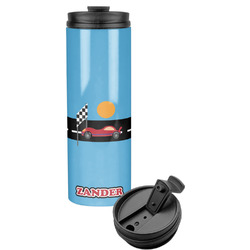 Race Car Stainless Steel Tumbler (Personalized)