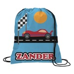 Race Car Drawstring Backpack (Personalized)