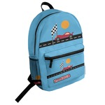 Race Car Student Backpack (Personalized)