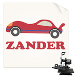 Race Car Sublimation Transfer (Personalized)