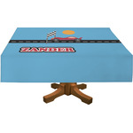 Race Car Rectangle Tablecloth (Personalized)