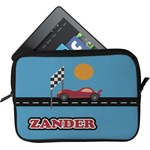 Race Car Tablet Case / Sleeve (Personalized)