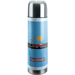 Race Car Stainless Steel Thermos (Personalized)
