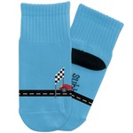 Race Car Toddler Ankle Socks (Personalized)