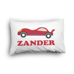 Race Car Pillow Case - Toddler - Graphic (Personalized)