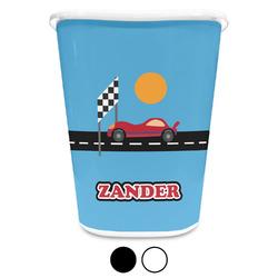Race Car Waste Basket (Personalized)