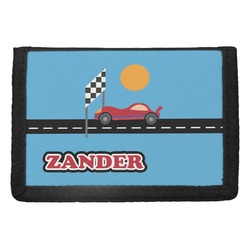 Race Car Trifold Wallet (Personalized)